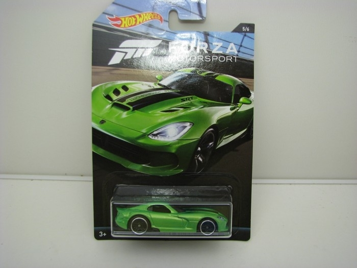Forza Motors Dodge Viper SRT 2013 Green Hot Wheels DWF31